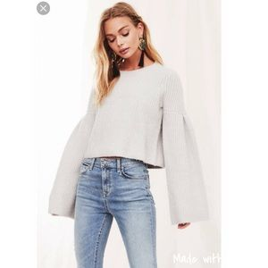 NWT Lovers + Friends Maxine Sweater
